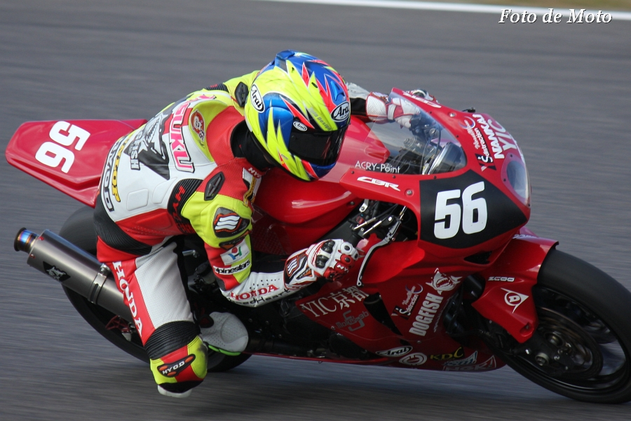 JSB1000 INT #56 speed Heart オーテック・スズカ 秋元 翼 Honda CBR1000RR