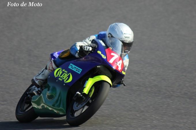 J-GP3 NAT #74 NUTEC+FLEX+Mテクニカ 船田 俊希 ホンダ NSF250R
