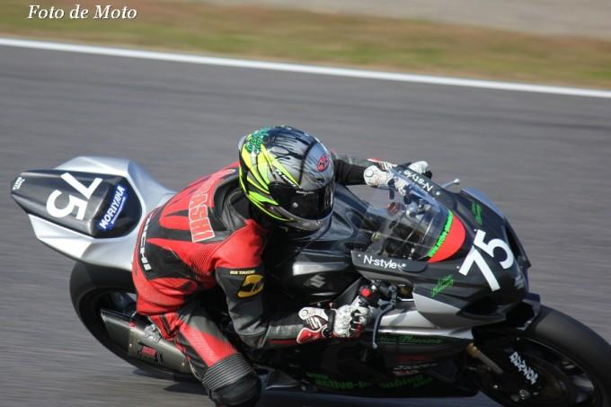 JSB1000 INT #75 Team EBATA 五十嵐 明弘 Suzuki GSX-R1000