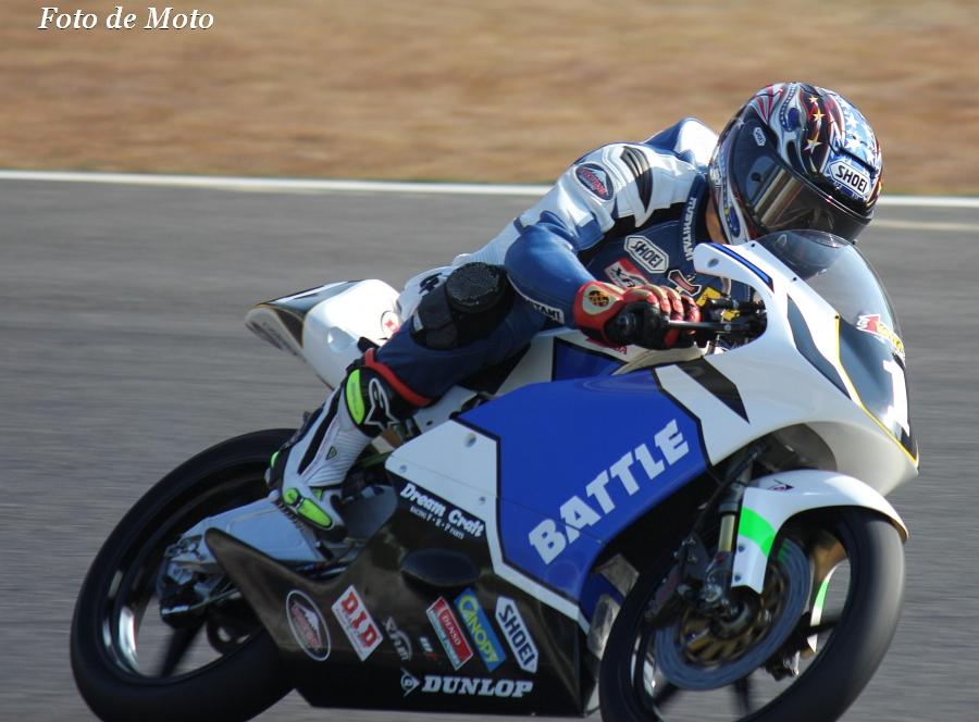 J-GP3 INT #1 Team BATTLE 岩田 吉正 ホンダ RS125R