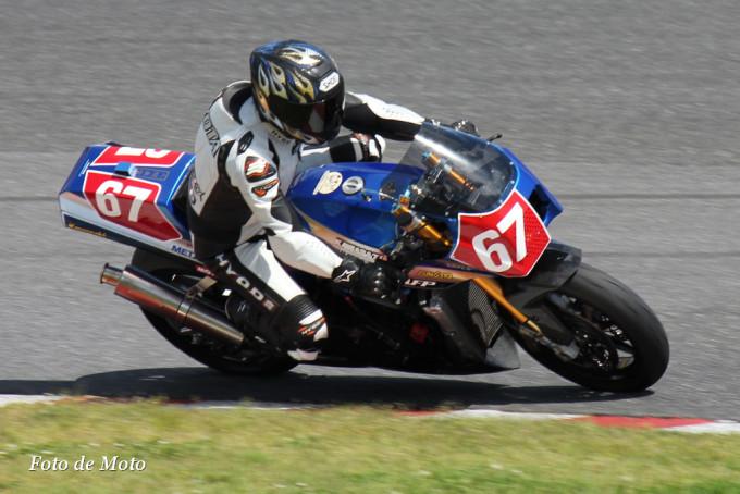 F-ZERO #67 POWER-BUILDER鉄輪 清田 宗雅 Kawasaki GPZ900R