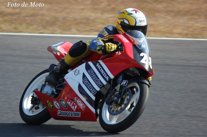 J-GP3 NAT #28 HONDA 鈴鹿レーシングチーム 源 勝也 Honda RS125R