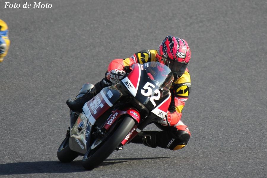 J-GP3 INT #52 RISKY+広島高潤 YERC 大塚 浩二 Honda ACH250M