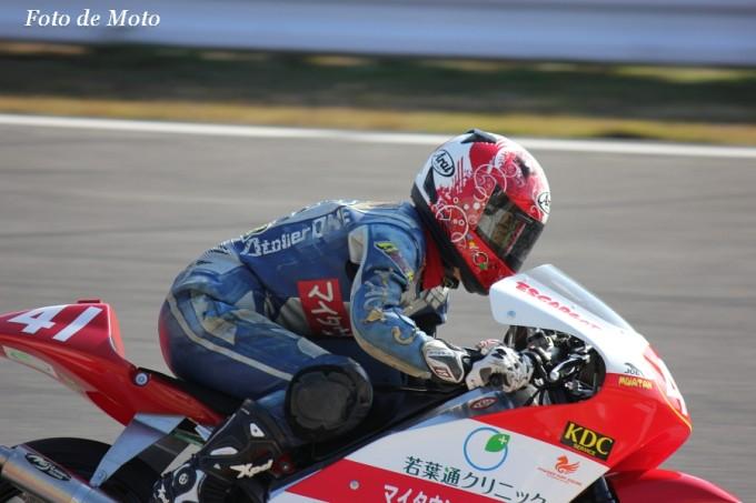J-GP3 NAT #41 まだ走っても?with高原様&マイタウン薬局 滝 かおる Honda KOR3