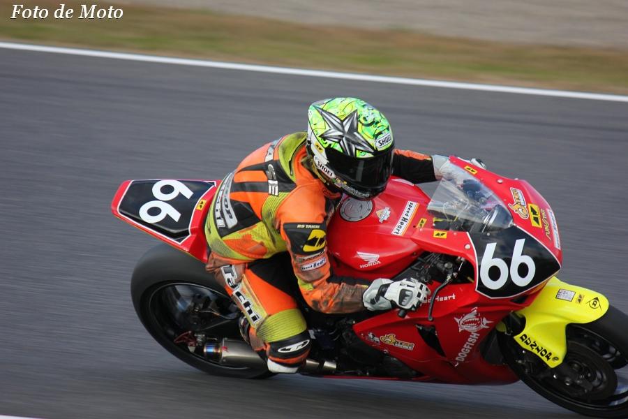 JSB1000 INT #66 スピードハート&オーテック・鈴鹿 和多瀬 邦治 Honda CBR1000RR