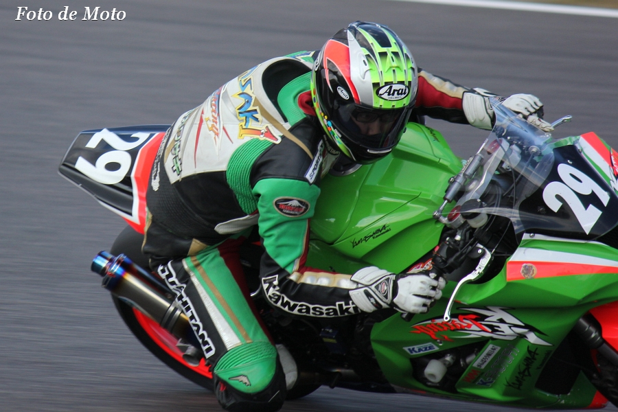 JSB1000 INT #29 グリーンクラブ&山科カワサキ 山崎 茂 Kawasaki ZX-10R