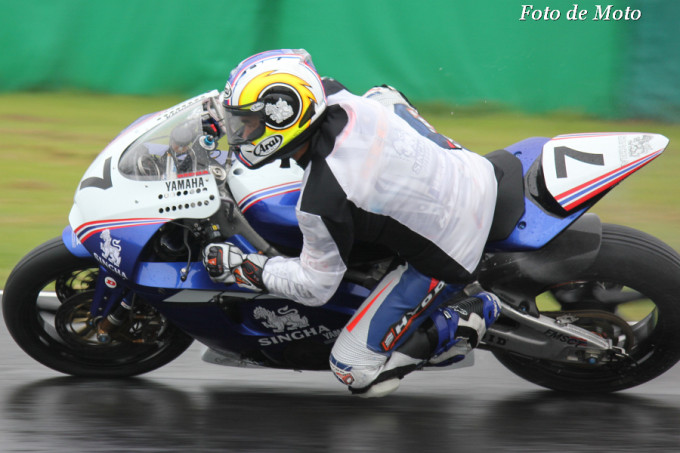 J-GP2 #7 Yamaha Thailand Racing Team Decha KRAISART TYM-R6