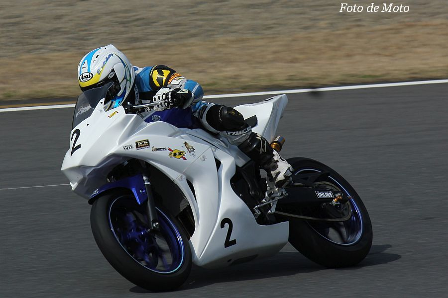 ST250T Eternal #2 TGR 藤井 岳 Yamaha YZF-R25