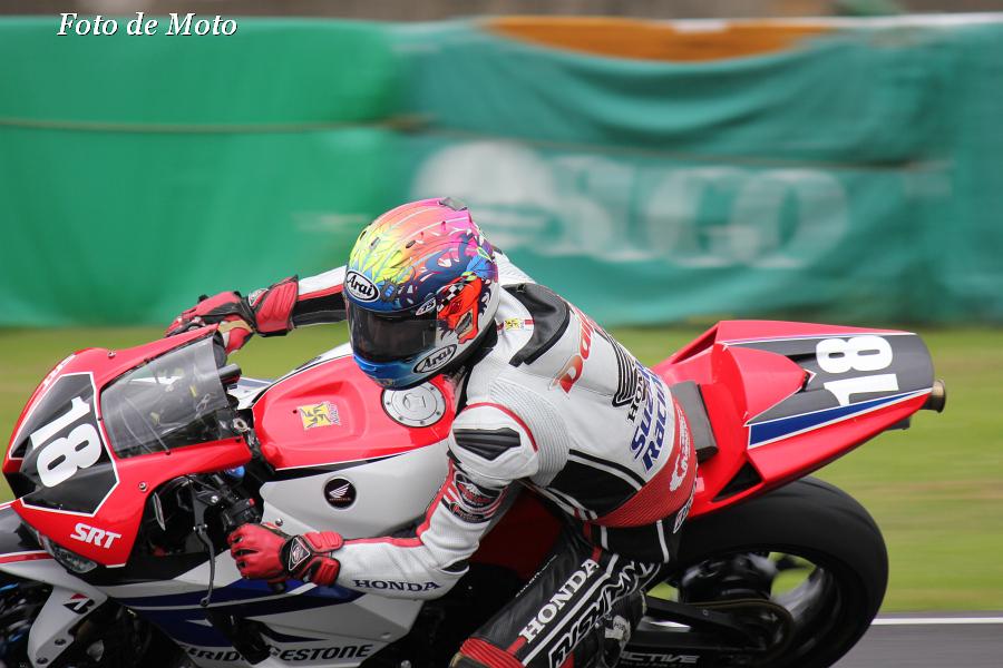 ST600 #18 Honda鈴鹿レーシング 日浦 大治朗 Hiura Daijiro Honda CBR600RR