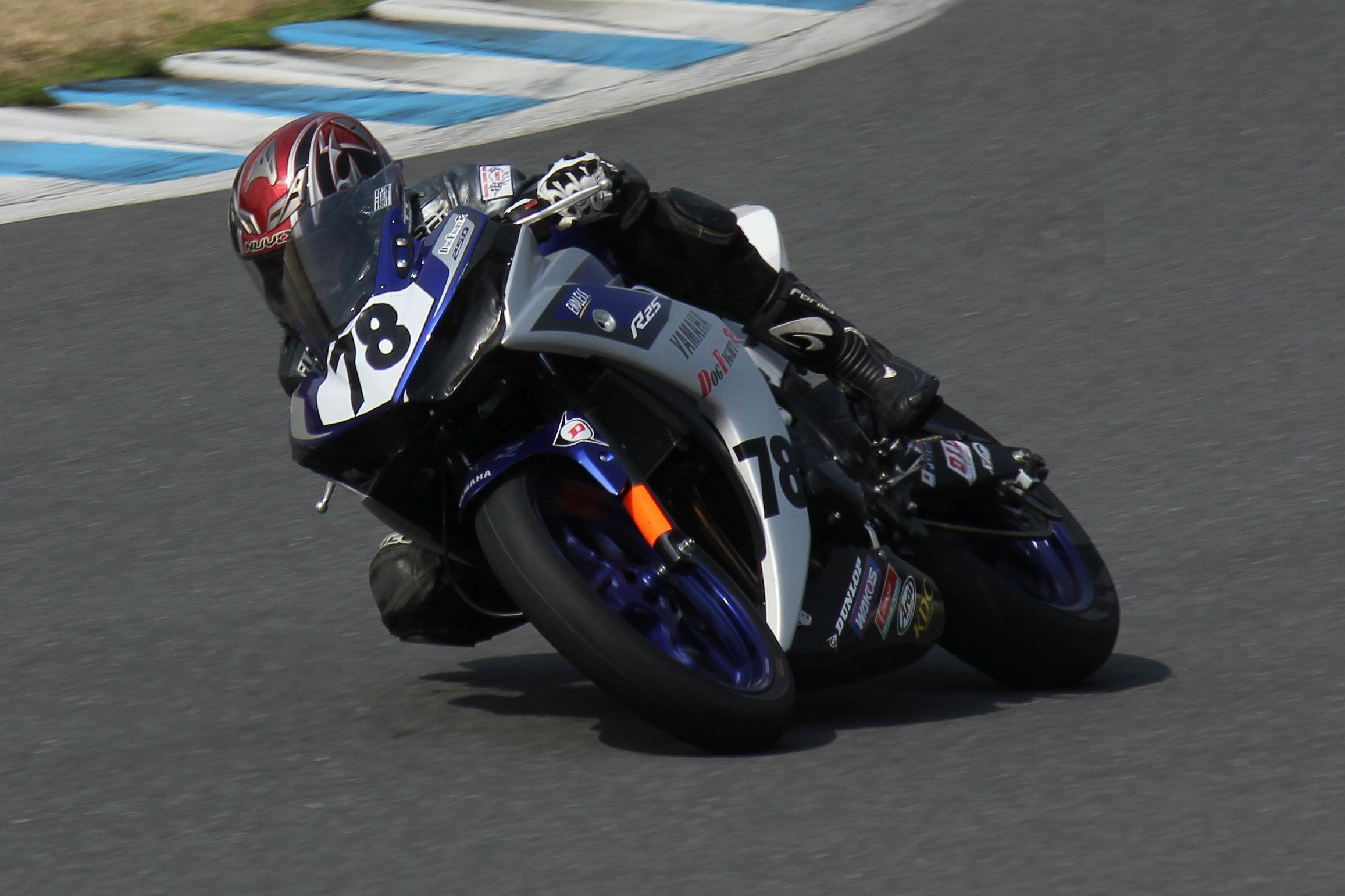 ST250T #78 DOG FIGHT RACING 伊能 直矢 YZF-R25