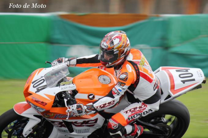 ST600 #104 TOHORacingpwdbyモリワキ 國川 浩道 Kunikawa Hiromichi Honda CBR600RR