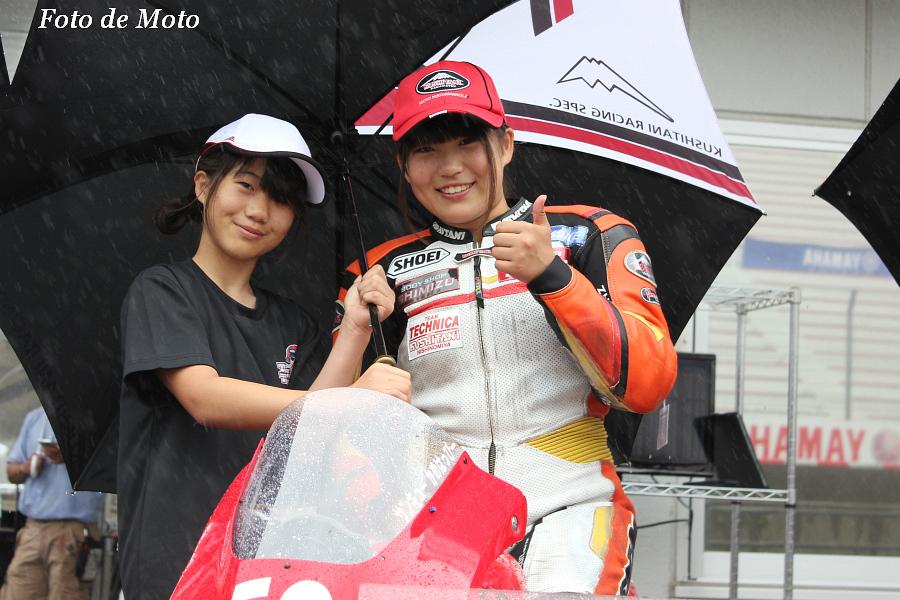 J-GP3 #53 TECHNICAwithKUSHITANI西宮 中山 愛理 Nakayama Airi NSF250R