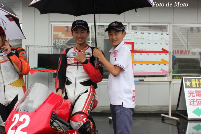 J-GP3 #22 TECHNICAwithKUSHITANI西宮 中山 翔太 Nakayama Shota NSF250R