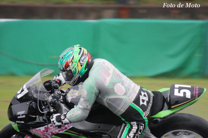 J-GP2 #51 桜プロジェクトPITCREW&松戸F 高橋 英倫 Takahashi Hidemichi MZX-6R
