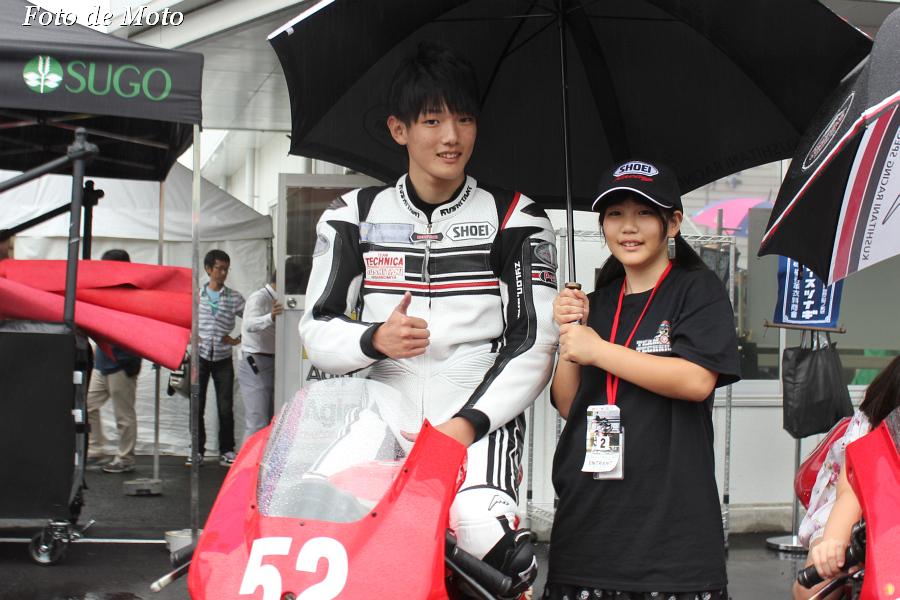 J-GP3 #52 TECHNICAwithKUSHITANI西宮 高谷 純平 NSF250R