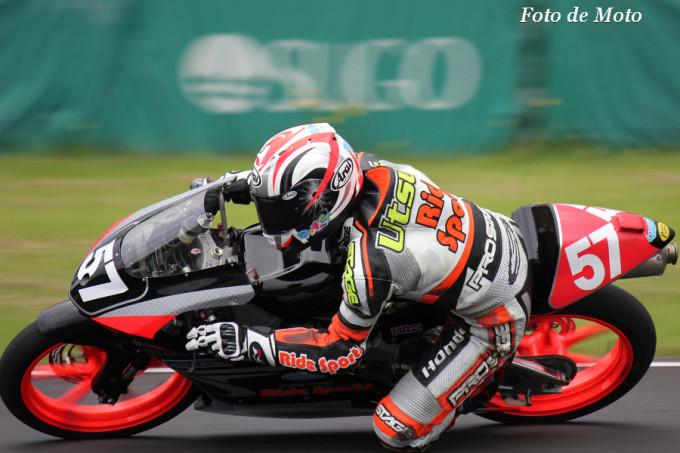 J-GP3 #57 racingライドスポーツ 内海 祐一 NSF250R