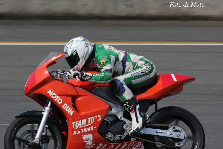 VTR250 #1 team TOSA + MOTOBUM 林 達也