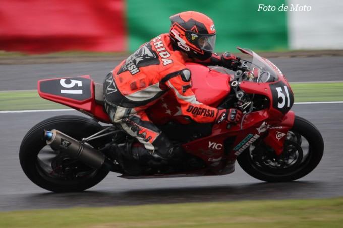 JSB1000 #51 オーテック・スズカ+RGニワ  大内田 実 Honda CBR1000RR