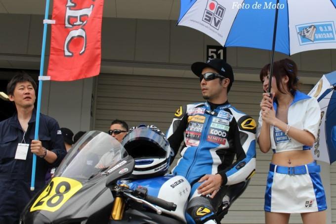 JSB1000 #28 H.L.O RACING 樋口 耕太 Higuchi Kota Suzuki GSX-R1000