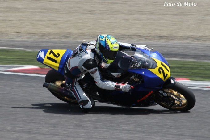 JSB1000 #21 Honda緑陽会熊本レーシング 北折 淳 Honda CBR1000RR