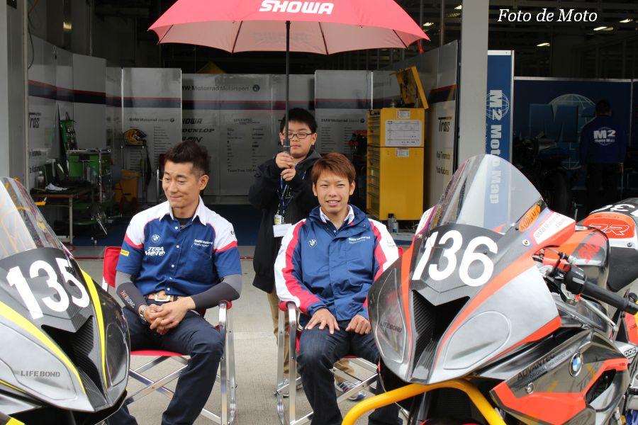 JSB1000 #136 Team Tras 135HP 児玉 勇太 Kodama Yuta 寺本 幸司 Teramoto Koji BMW S1000RR