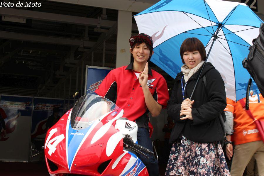 JSB1000 #14 Honda熊本レーシング 小島 一浩 Kojima Kazuhiro Honda CBR1000RR