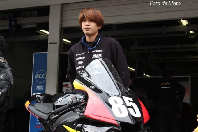 JSB1000 #85 HiTMAN RC甲子園ヤマハ 中冨 伸一 Nakatomi Shinichi Yamaha YZF-R1