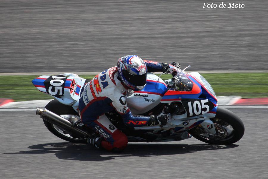 JSB1000 #105 Motorrad Toyota ナガサカ レーシング 野田 達也 BMW S1000RR
