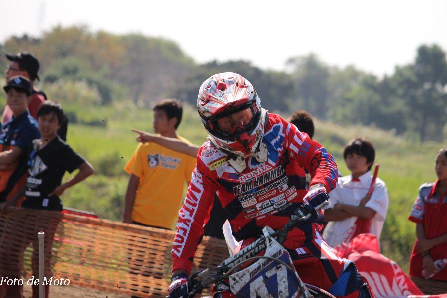 IB-Open #47 TEAM HAMMER 鈴村 英喜 Honda CRF250R