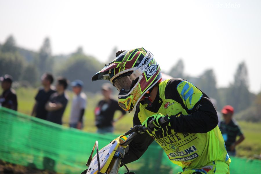 IB-Open #13 SRF Team ブルーイーグルス 石浦 優 Suzuki RM-Z250