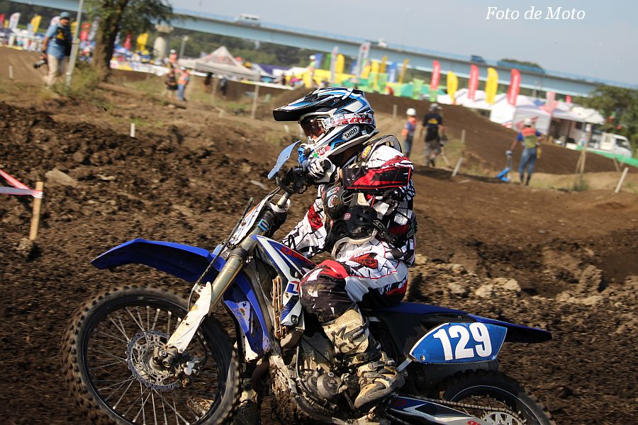 IB-Open #129 TEAM-M1-RACING 加藤木 桂 Yamaha YZ250F