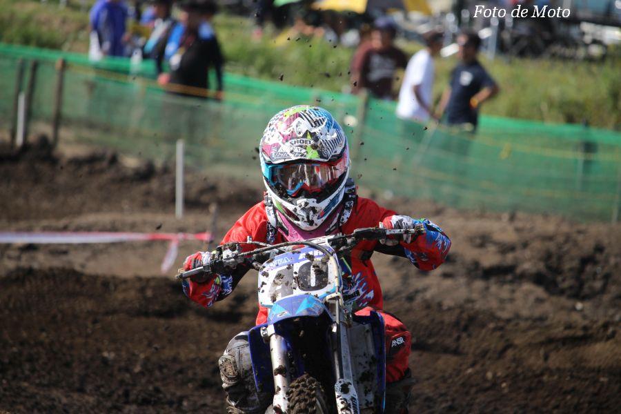 LX #40 AQUA Racing & YS黒松 佐々木 愛梨 Yamaha YZ85