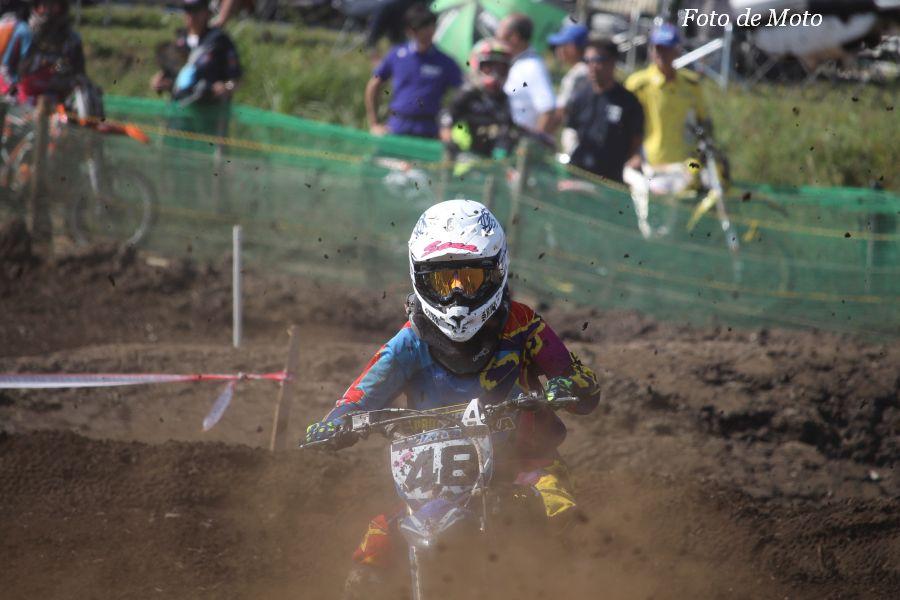 LX #48 レーシングチーム鷹 田端 紗名 Yamaha YZ85