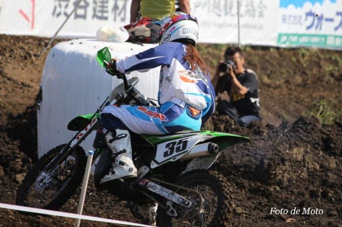 LX #35 シーズー&TAS&SP&K-F 岩井 のり子 Kawasaki KX85-Ⅱ