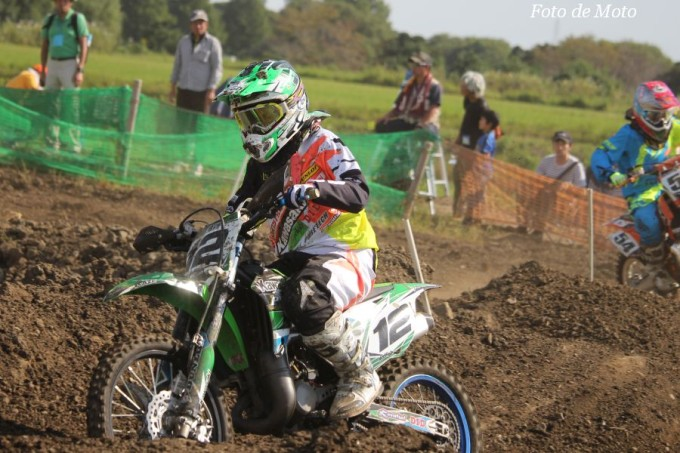 LX #12 グリーンクラブ ピュアテックレーシング 神田橋 芽 Kawasaki KX85