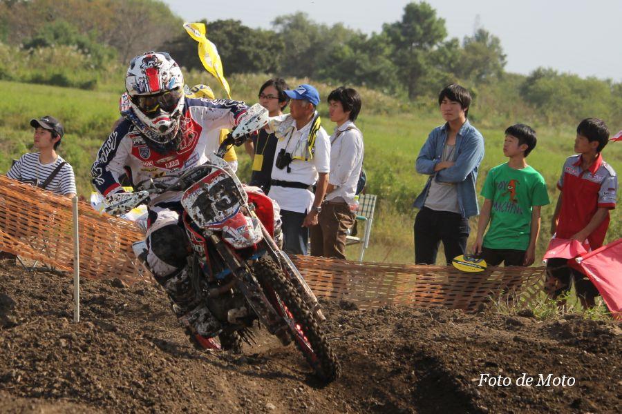 LX #13 Team ITOMO 勝股 七海 Honda CRF150RⅡ