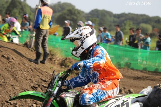 LX #25 名木モト少年団 澤村 玲菜 Kawasaki KX85