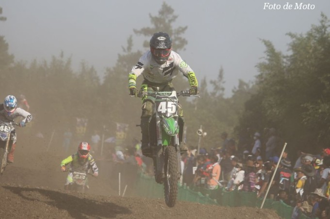 IA2 #45 グリーンクラブ&パーク神戸RT 迫田 勇馬 Kawasaki KX250F