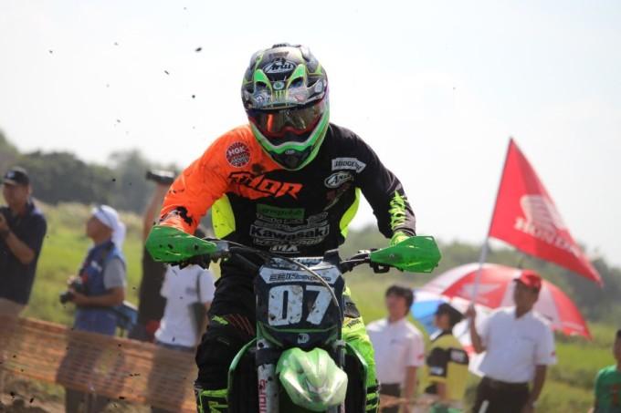 IA2 #07 グリーンクラブ331レーシングチーム 菅谷 崚介 Kawasaki KX250F