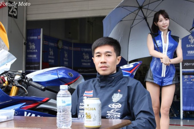 ST600 #65 Chalermpol POLAMAI タイ ヤマハタイランド Racing Team YAMAHA YZF-R6