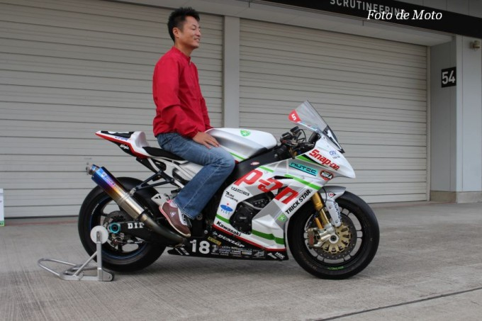 JSB1000 #18 Snap-on TRICK STAR Racing 出口 修 KAWASAKI ZX-10R