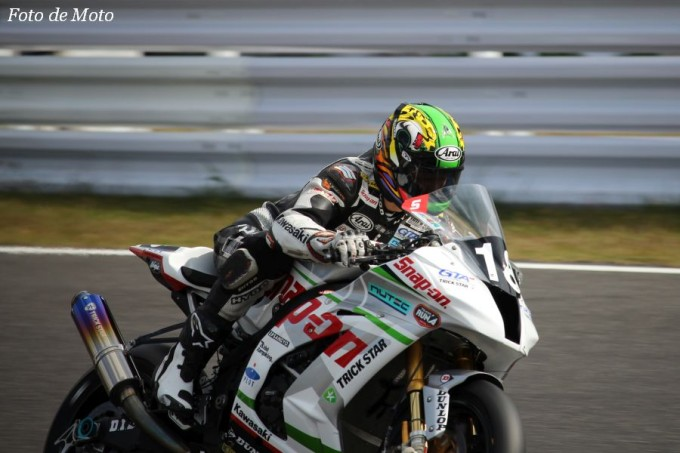 JSB1000 #18 Snap-on TRICK STAR Racing 出口 修 KAWASAKI ZX-10R