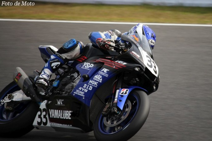 JSB1000 #33 YAMALUBE RACING TEAM  藤田 拓哉 YAMAHA YZF-R1