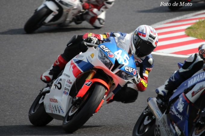 ST600 #45 Team 高武 RSC 岩戸 亮介 Honda CBR600RR