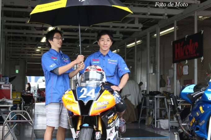 ST600 #24 リリカ AMENA with OutRun 中本 郡 YAMAHA YZF-R6