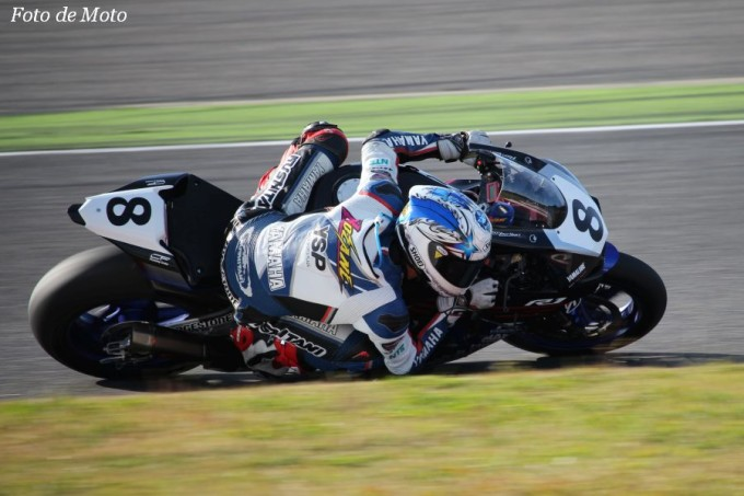 JSB1000 #8 YAMALUBE RACING TEAM 野左根 航汰 YAMAHA YZF-R1