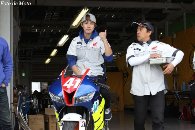 ST600 #41 ホンダドリーム高崎B'WISE RT中央前橋 澤村 俊紀 Honda CBR600RR