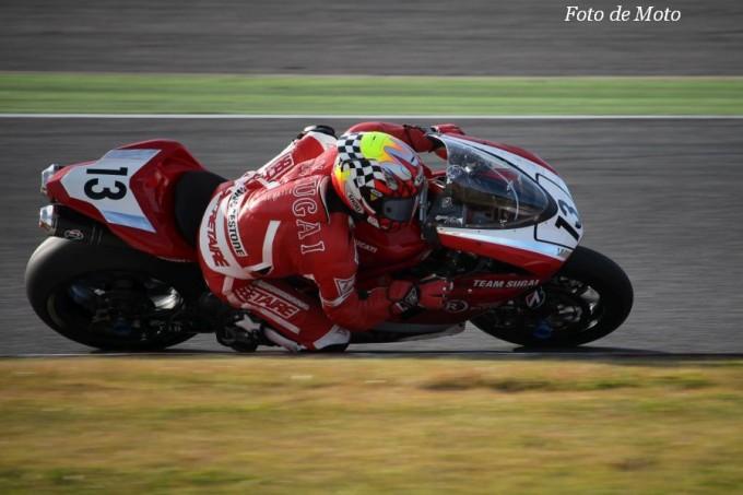 JSB1000 #13 チームスガイレーシングジャパン 須貝 義行 DUCATI 1098R