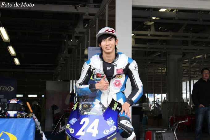 J-GP3 #24 FLEX Racing TEAM 船田 俊希 Honda NSF250R