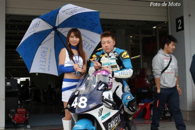 J-GP3 #48 ENDLESS TEAM SHANTI GP3 布施 元紀 Honda NSF250R